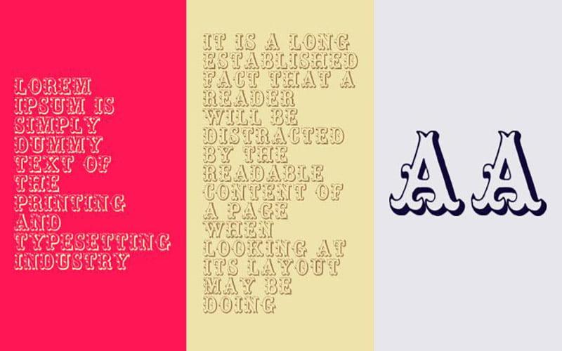 Toskanische Egyptienne Initialen Font Free Download