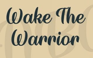 Wake The Warrior Font Family Free Download