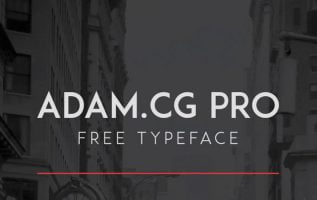 Adam CG Pro Font Family Free Download