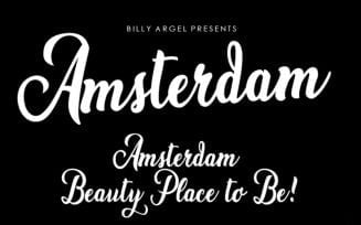 Amsterdam Font Family Free Download