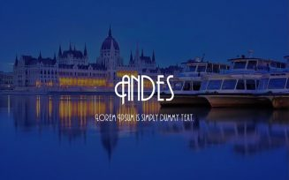 Andes Font Family Free Download