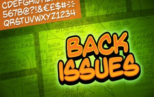 Back Issues Font Family Free Download