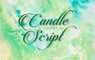 Candlescript Font Family Free Download