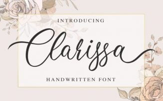 Clarissa Font Family Free Download