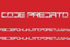 Code Predators Font Family Free Download
