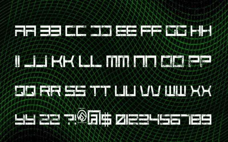 Code Predators Font Free Download