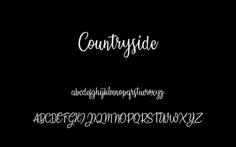 Countryside Font Free Download