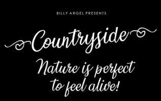 Countryside FontFamily Free Download