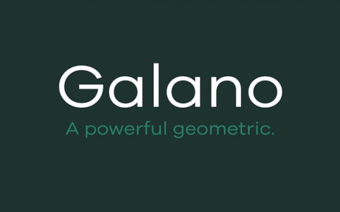 Galano Grotesque Font Family Free Download