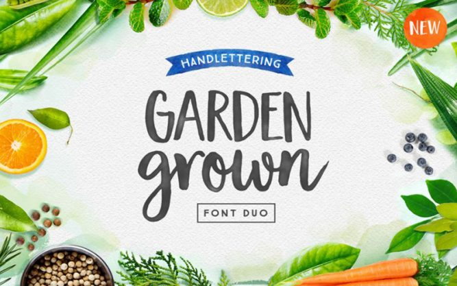 Garden Grown Font Family Free Download