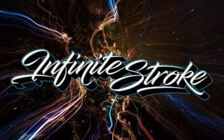 Infinite Stroke Font Family Free Download