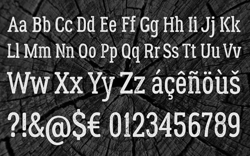 Lumberjack-Font-Family-Download