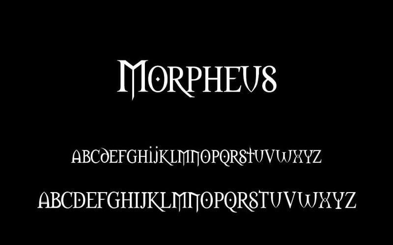 Morpheus Font Free Download