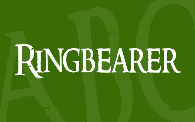 Ringbearer Font Family Free Download