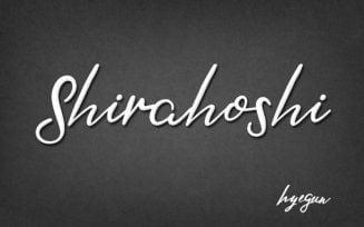 Shirahoshi Font Family Free Download