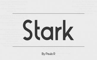 Stark Font Family Free Download