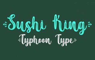 Sushi King Font Family Free Download