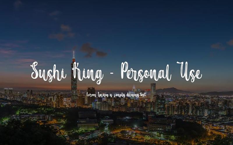 Sushi King Font Free Download