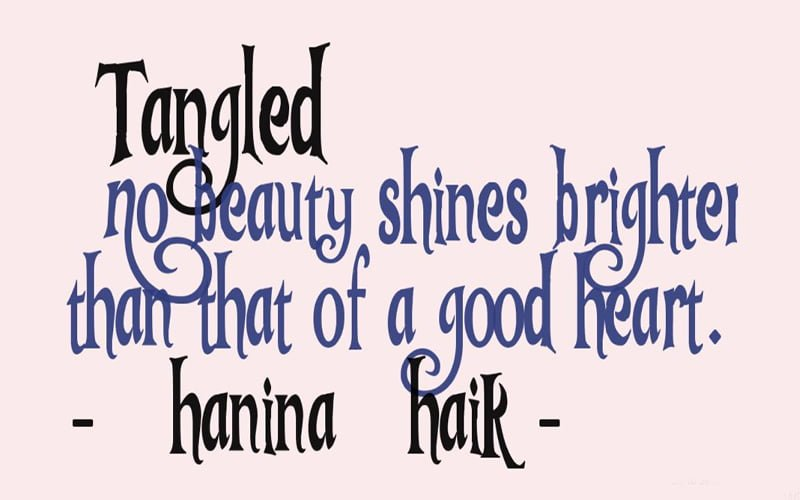 Tangled Font Free Download