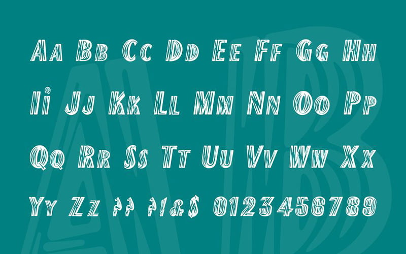 The-Flash-Font-Family-Download