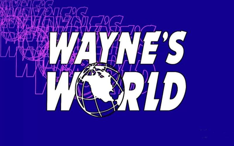 Wayne's World Logo Font Free Download