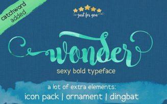 Wonder Font Family Free Download