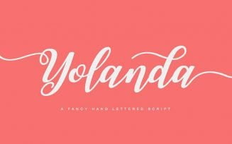Yolanda Script Font Family Free Download