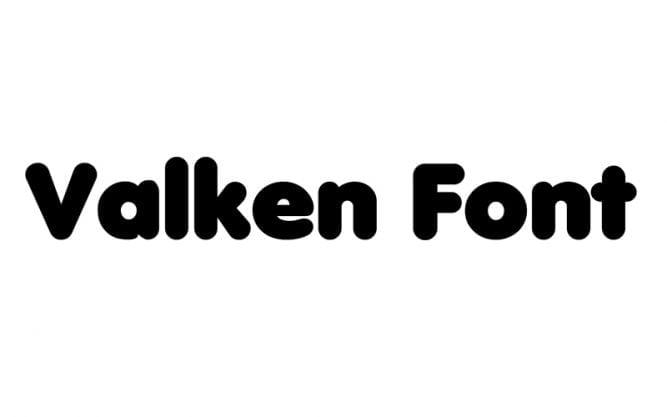 Valken Font Family Free Download