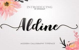 Aldine Font Family Free Download