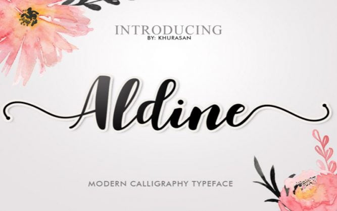 Aldine Font Family Free Download