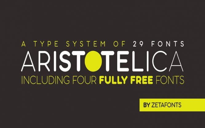 Aristotelica Font Family Free Download