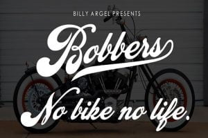 Bobbers Font Family Free Download