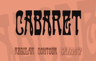 Cabaret Font Family Free Download