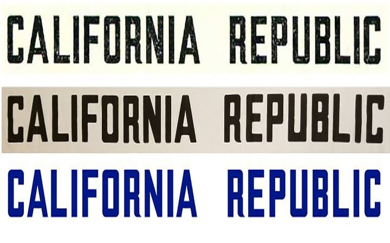 California-Flag-Font-Family-Download