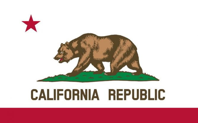 California Flag Font Family Free Download