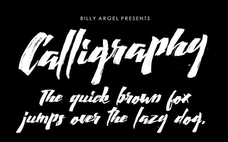 Calligraphy-Wet-Font-Family-Download