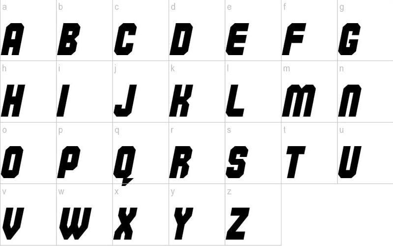 Commando-Font-Family-Free-Download