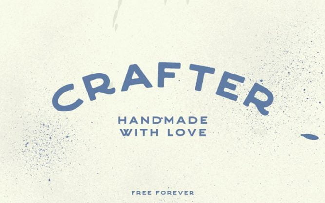Crafter Font Family Free Download
