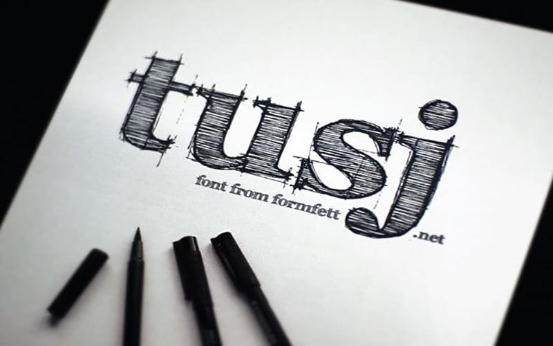 FFF-Tusj-Font-Family-Download