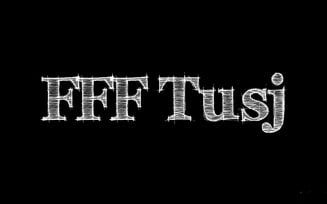 FFF Tusj Font Family Free Download