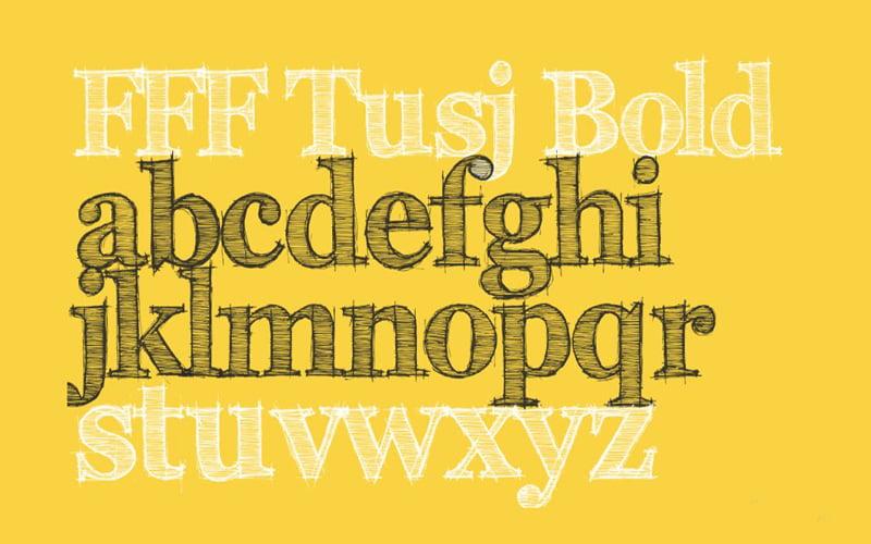 FFF Tusj Font Free Download