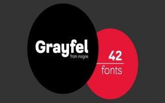 Grayfel Font Family Free Download
