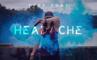 Headache Font Family Free Download
