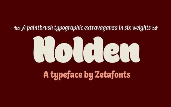 Holden Font Family Free Download