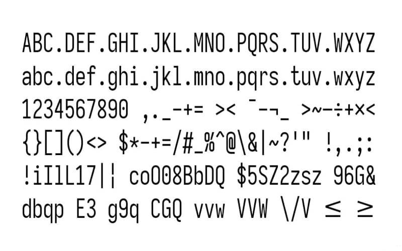Iosevka Font Free Download