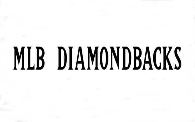 MLB Diamondbacks Font Family Free Download