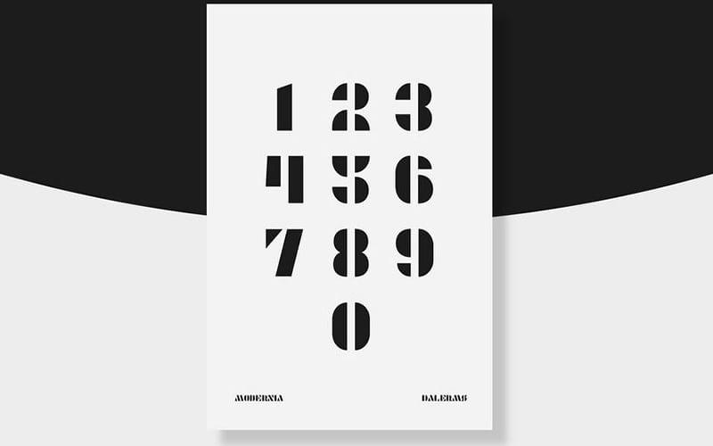 Modernia Font Free Download