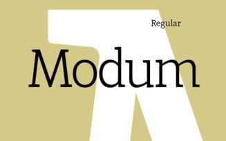 Modum Font Family Free Download