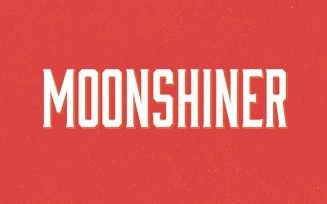 Moonshiner Font Family Free Download