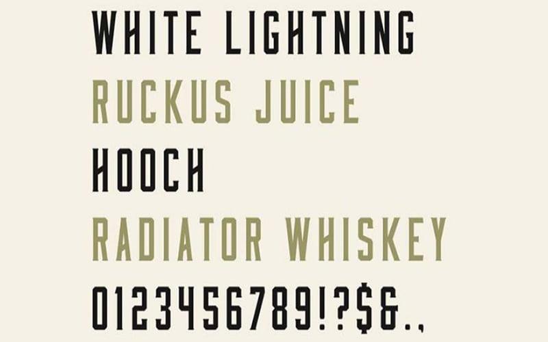 Moonshiner Font Free Download
